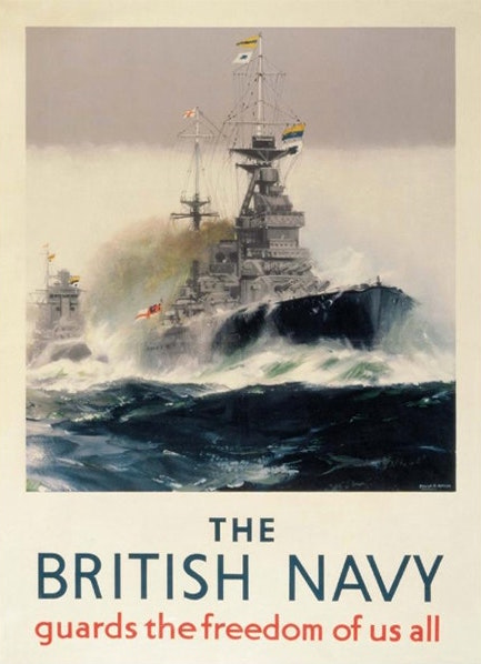 The British Navy: Guard the Freedom of us All