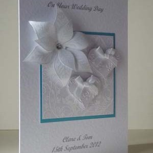 Elegant Wedding Card Angle - Ref 184