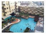 swimming pool + jacuzzi area