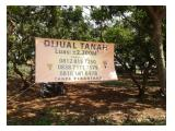 Dijual Tanah GIRIG 2200m, Lokasi dekat GrandGalaxi Bekasi