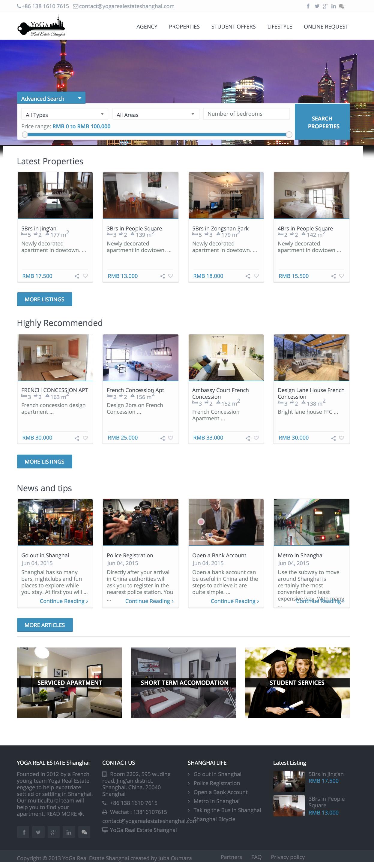 yogarealestate-homepage