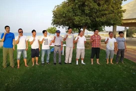 الله أكبر و لله الحمد – إسلام 10 أشخاص من الجالية الصينية .
