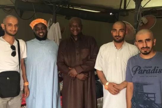 مسلم جديد يسلم حقيبة بها ٦٠٠٠ ريال #بالحج