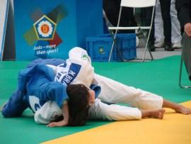 Manoela Braga conquistou sua segunda medalha europeia na  Romênia | Foto: CBJ