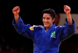 Mayra Aguiar foi destaque na categoria esporte da premiação   Foto: Tamas Zahonyi / FIJ