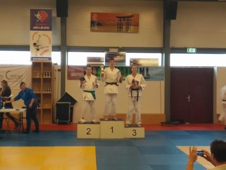 Nick Brouwer 3e plaats