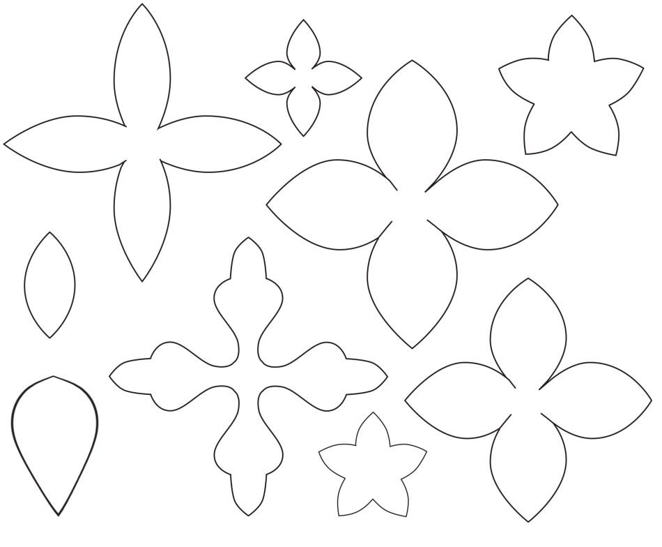 felt shapes