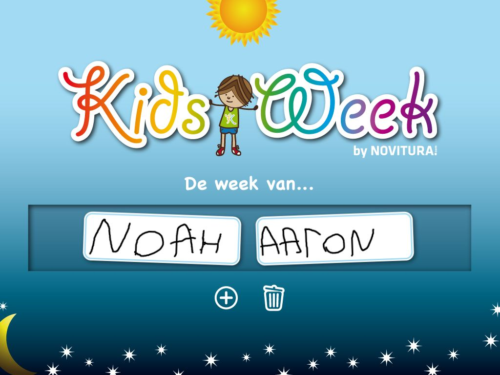 Week Planner for Kids – App review