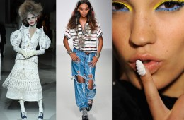 Bizarre Catwalk Trends Spring Summer 2014