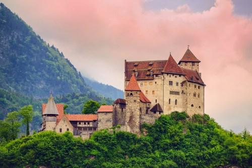 Travel Liechtenstein castle