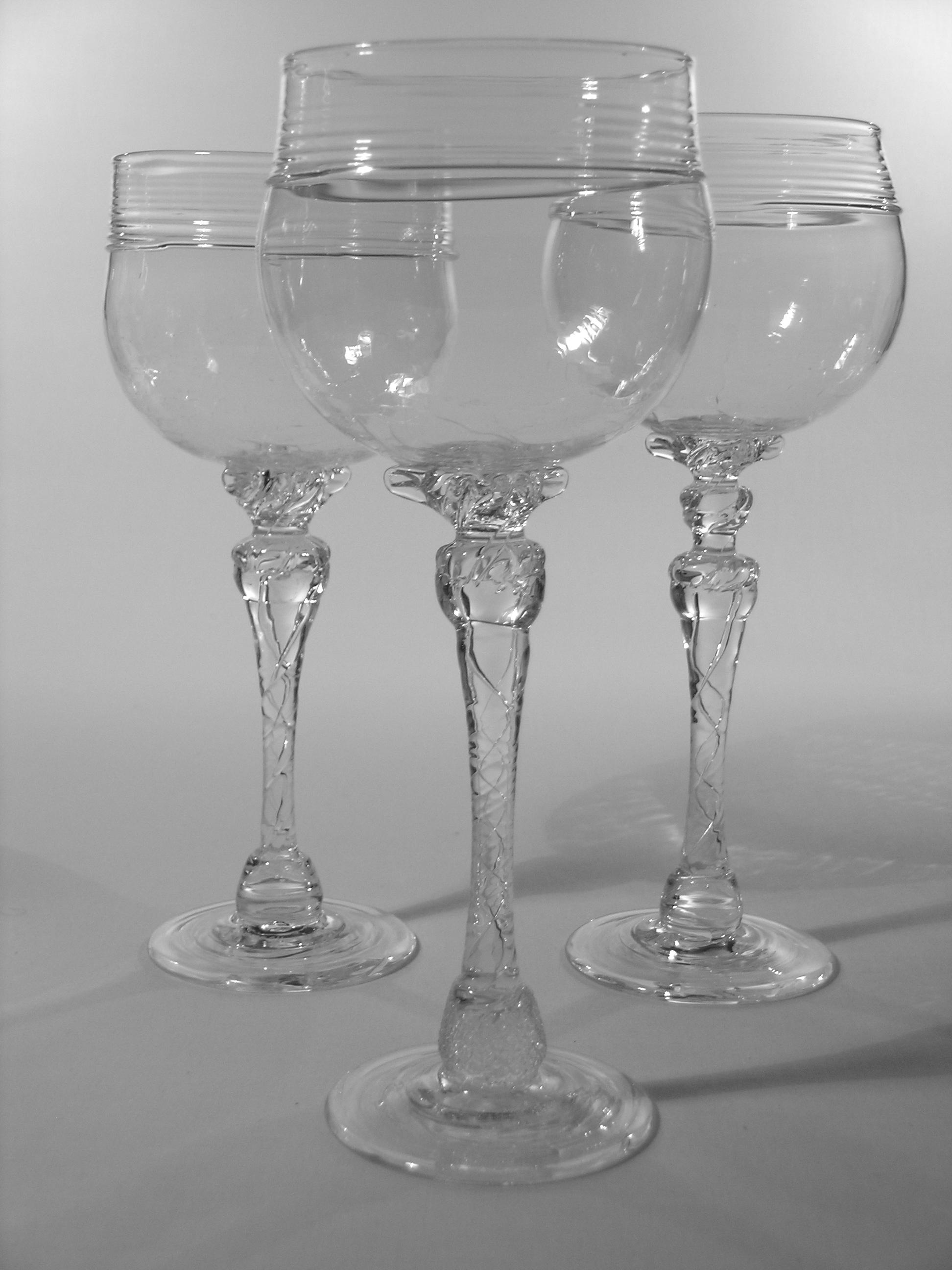 Winter Ice Wine Goblet