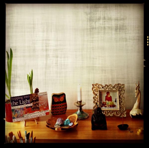 Desk Altar