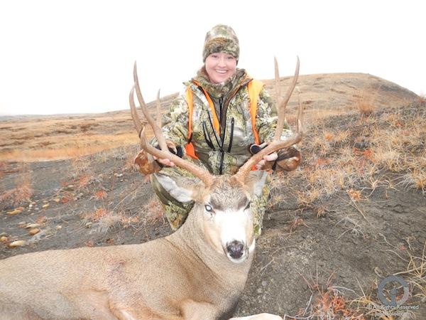 Julie's 2012 Mule Deer Buck