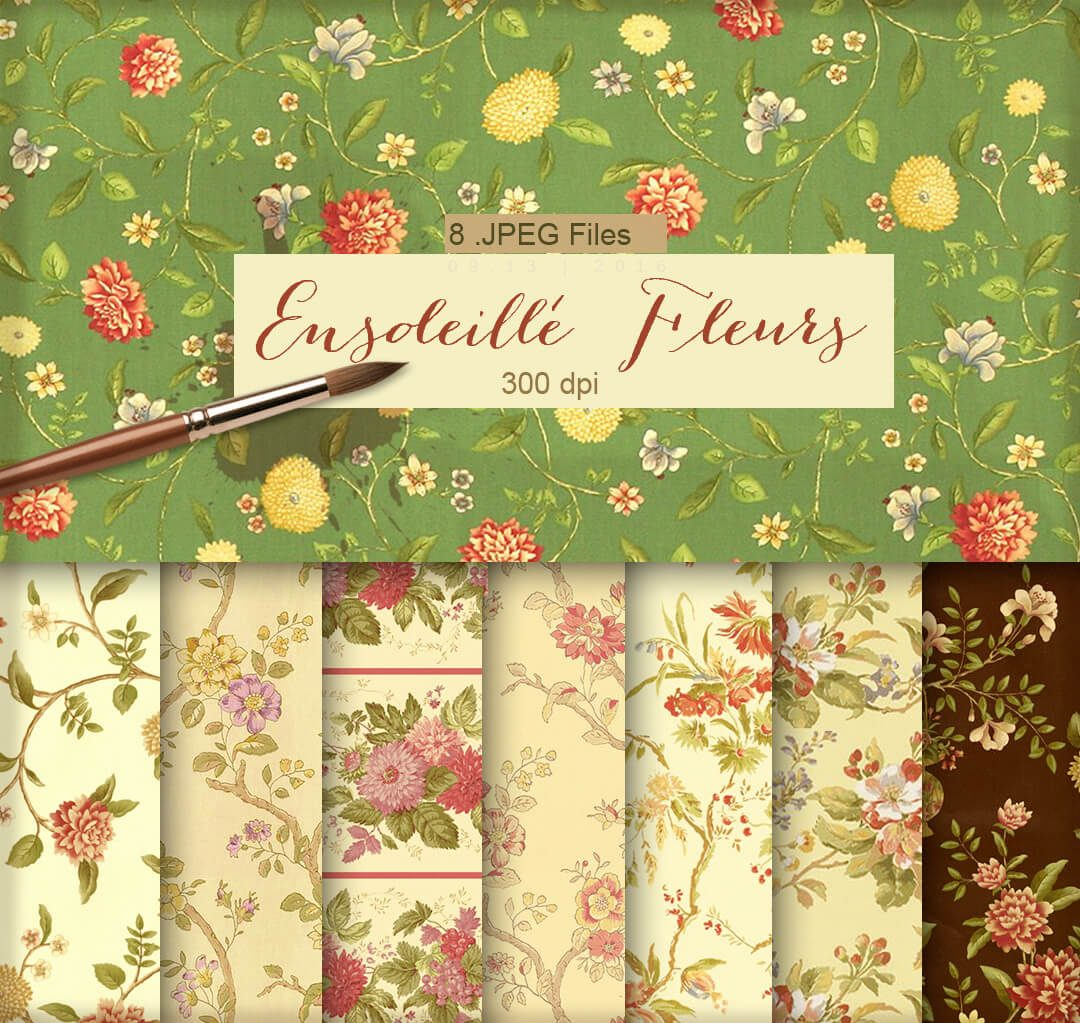 fondos-florales-vintage