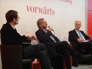 Christoph Links vom vorwärts Verlag im Gespräch
