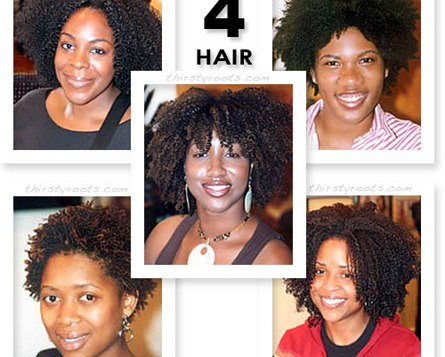 featured image - type 4 hair