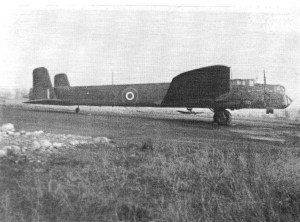 Whitley AD-701 (TY-B) in the photo above, taken at 24 O.T.U. in 1943