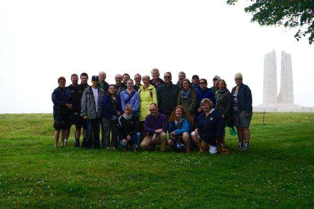 Juno 14 Group at Vimy