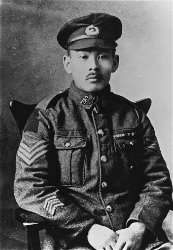 Masumi Mitsui in the First World War.