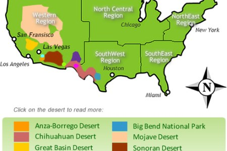 Map Of South American Deserts - Map of deserts in us