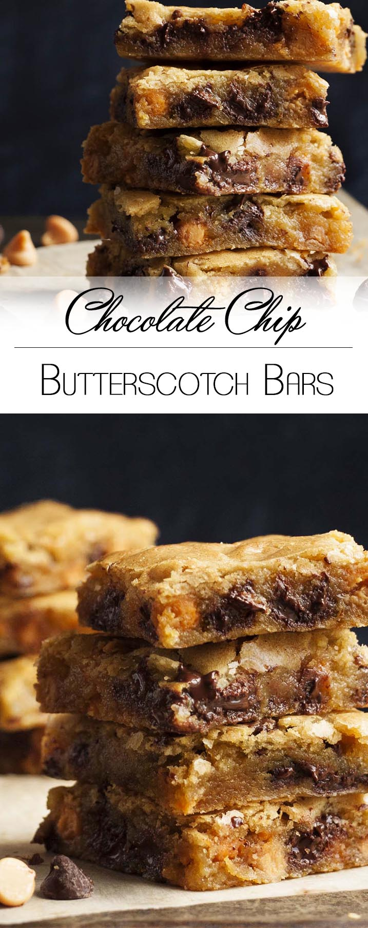 Chocolate Chip Butterscotch Bars - These one bowl bars have all the ...