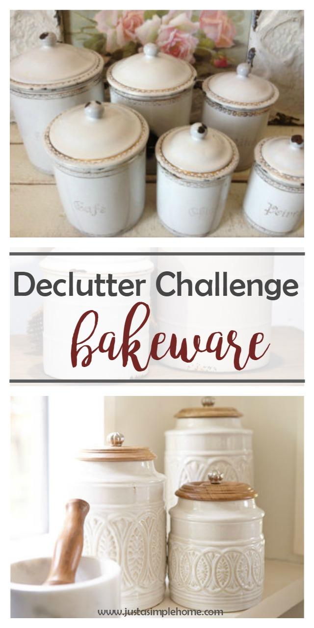 Declutter Challenge Bakeware