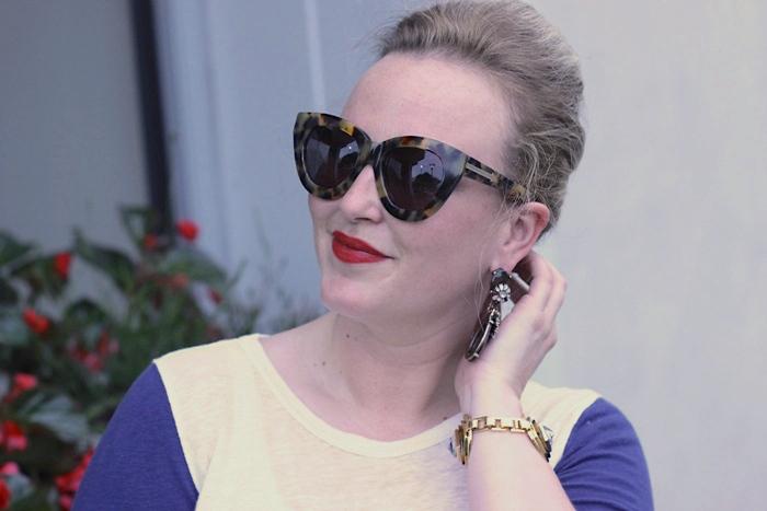 Jenna Wessinger Atlanta Blogger Jungle Red Lipstick
