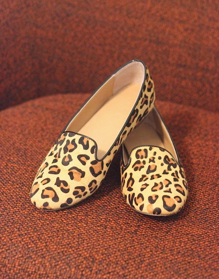 JCrew Factory Leopard Loafers