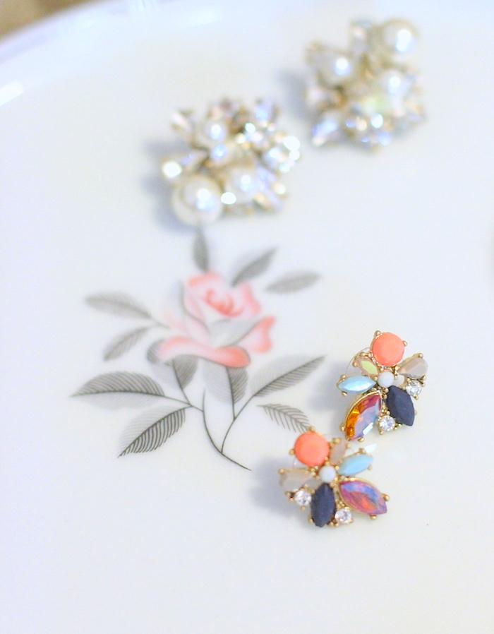 JCrew Flower Earrings