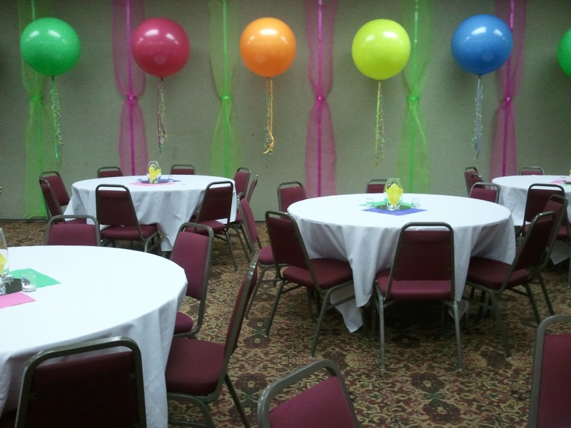 O Awesome Balloon Saveenlarge Birthday Party Decorating Ideas Elitflat 80th