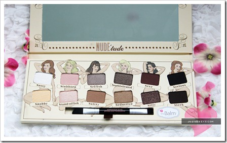Review: The Balm Nude 'Tude Eyeshadow Palette and Swatches