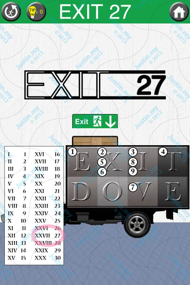 100 Exits Walkthrough Cheat And Hints Level 27