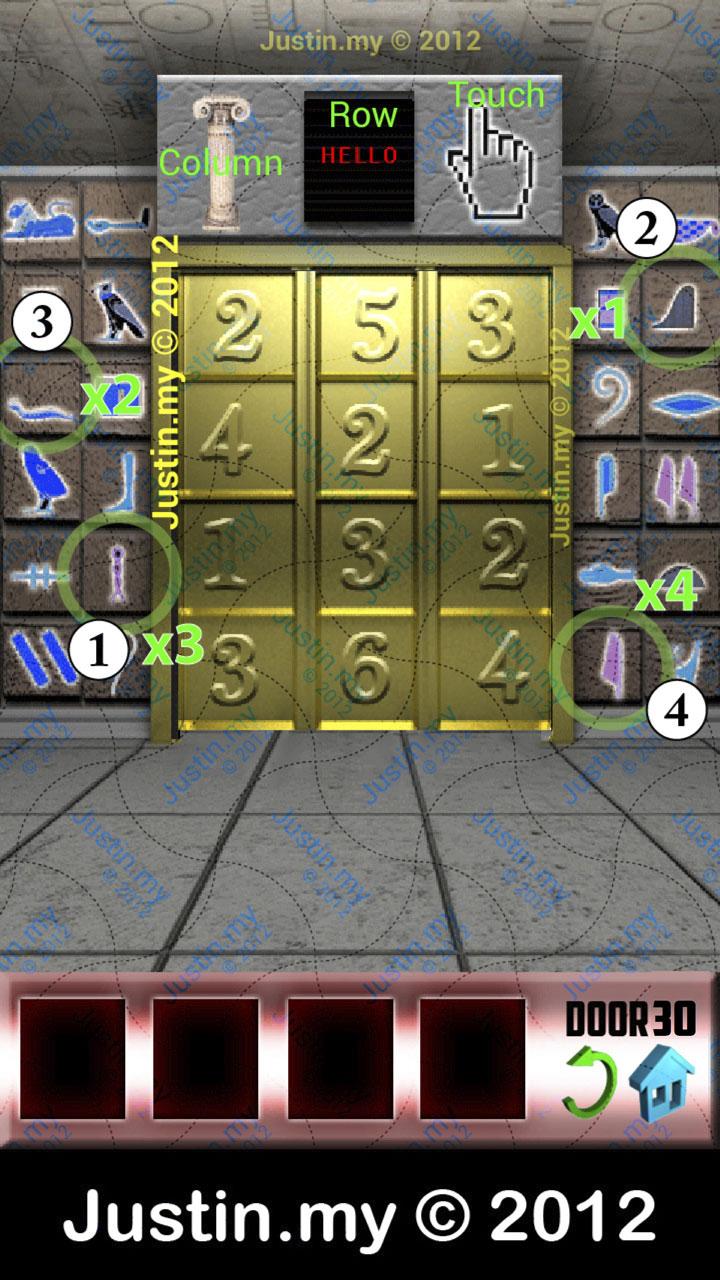 100 doors iphone level 34 for 100 door x