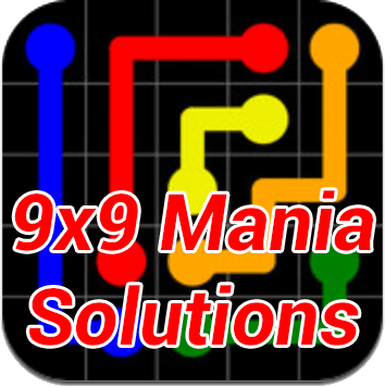 Flow Mania 9x9 Answers