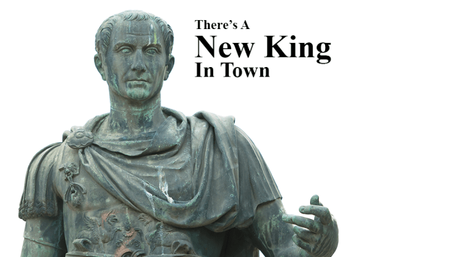 There's a New King in Town (Mark 1:1)