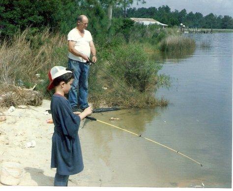 Fishing at Bon Secour