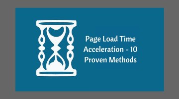 Page Load Time Acceleration – 10 Proven Methods