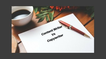 What is the Difference between Content Writer and Copywriter