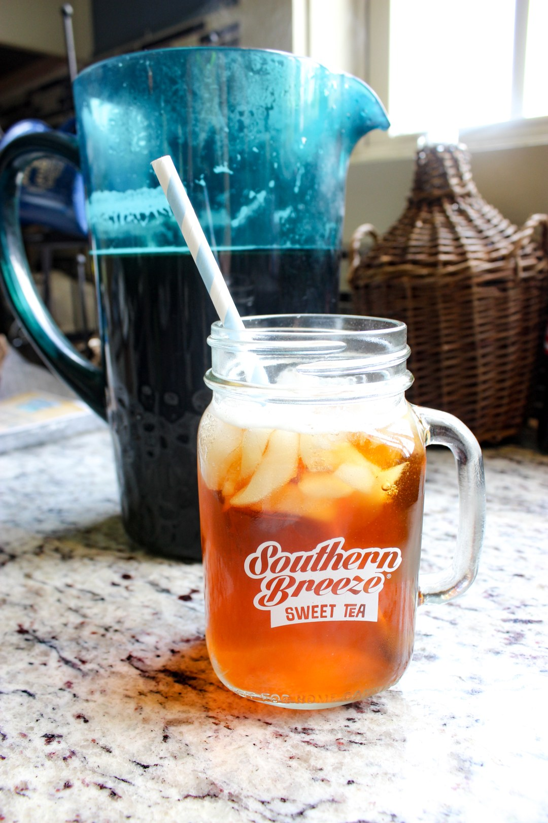 Southern Breeze Sweet Tea | Just Peachy Blog