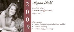 Small Of Graduation Announcement Wording