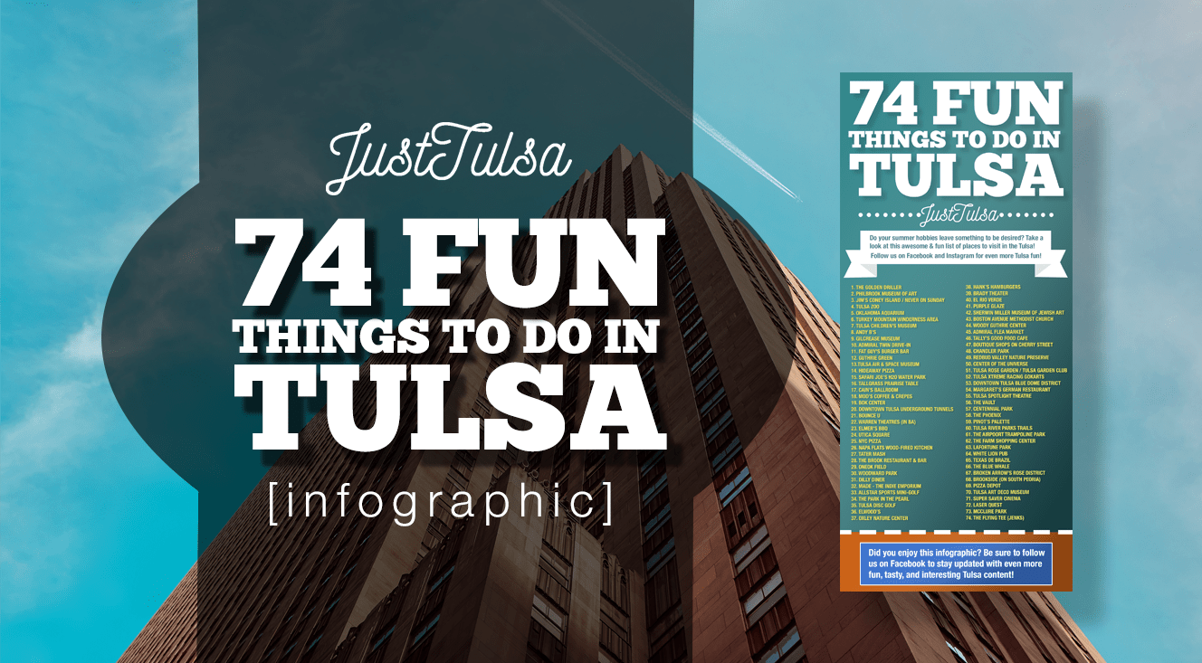 74 Fun Things To Do in Tulsa [INFOGRAPHIC]