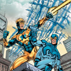Booster Gold Blue And Gold