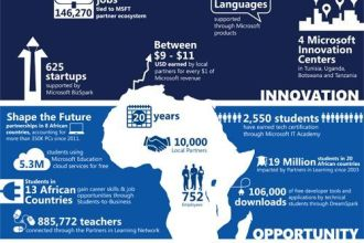 Microsoft 4Afrika 1 Million SMEs Online by 2016