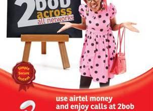 Airtel 2 Bob promotion juuchini