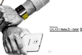 Samsung Note 3 and Samsung Galaxy Smartwatch Juuchini