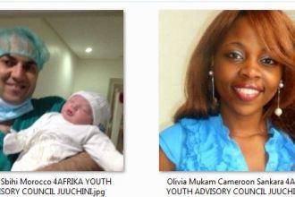 Microsoft 4Afrika Youth Advisory Council Chude Jideonwo Tayeb Sbihi Olivia Mukam Sankara Akaliza Keza Gara JUUCHINI