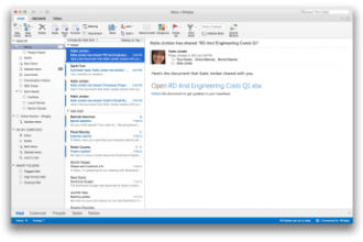 MICROSOFT RELEASES NEW OUTLOOK FOR MAC JUUCHINI