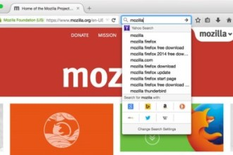 MOZILLA INTRODUCES NEW SEARCH INTERFACE JUUCHINI