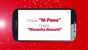 VODACOM'S M-PAWA PLATFORM HITS THE ONE MILLION MARK JUUCHINI