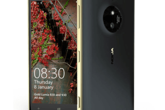 Lumia 830 Gold Edition JUUCHINI